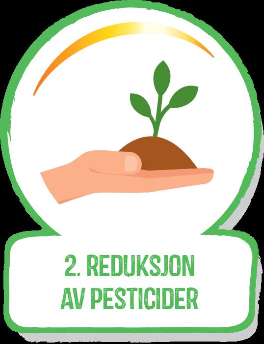 Reduktion af pesticider
